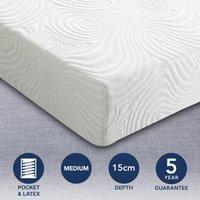 image-Sareer Matrah Latex Foam Mattress White