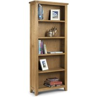 image-Astoria Oak Tall Bookcase Brown