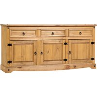 image-Corona Pine Extra Large Sideboard Natural