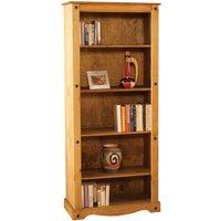 image-Corona Pine Tall Bookcase Natural
