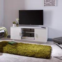 image-Lima White High Gloss TV Stand White
