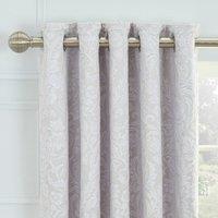 Dorma Winchester Grey Blackout Eyelet Curtains Grey
