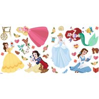 Princess Wall Stickers Blue/Yellow/Green/Pink