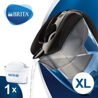 BRITA Elemaris XL Water Filter Jug - Black Black