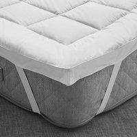 Fogarty bamboo mattress topper white