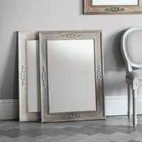image-Ellesmere Rustic Wall Mirror White