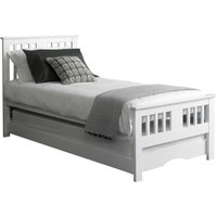Osorno Guest Bed and Trundle White
