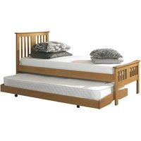 Osorno Oak Guest Bed and Trundle Brown