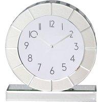 5A Fifth Avenue Mirrored Mantle Clock Mirror