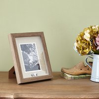 image-Heart Photo Frame Brown