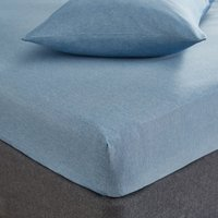 Fogarty Soft Touch Fitted Sheet Denim