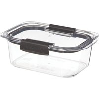 image-Sistema Brilliance 920ml Rectangle Food Storage Box Clear