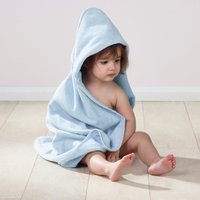 image-Pack of 2 Blue Hooded Towels Blue