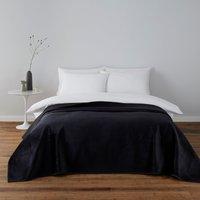 image-Kayla Black Bedspread Black