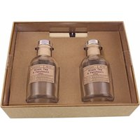 Churchgate Black Tea and Patchouli Set of Two Diffusers Brow