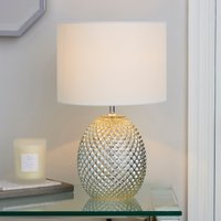 image-Kelso Mercury Glass Table Lamp Champagne