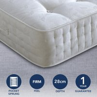Ambassador Firm 3000 Pocket Mattress White