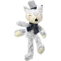 Winter Woodland Charlie Fox Dog Toy Grey