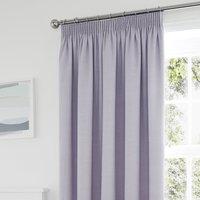 Tyla Mauve Blackout Pencil Pleat Curtains Purple