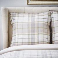 Dorma Livingston Natural Continental Square Pillowcase Pair Natural
