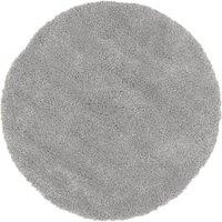 Slumber Shaggy Circle Rug Slumber Grey