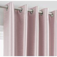 Montana Blush Eyelet Curtains Blush Pink
