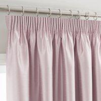 Montana Blush Pencil Pleat Curtains Blush
