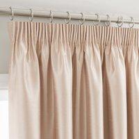 Montana Cream Pencil Pleat Curtains Cream