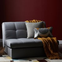 Grey Rowan Single Sofa Bed Grey