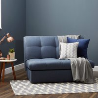 Navy Rowan Small Double Sofa Bed Navy