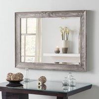 Yearn Framed Mirror Light Grey Grey