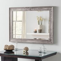 Yearn Framed Mirror Light Grey Grey