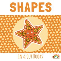In and Out Shapes Book Orange