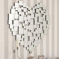 Heart Wall Mirror Clear