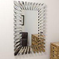 image-Starburst Wall Mirror Clear