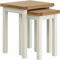 image-Compton Ivory Nest of Tables Ivory