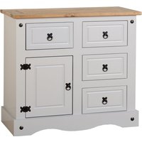 Corona Grey Medium Sideboard Grey