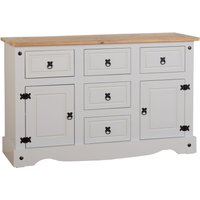 Corona Grey Pine Sideboard White
