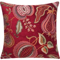 image-Summer Fruits Red Cushion Cover Red