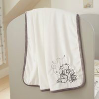 image-Disney Winnie the Pooh Fleece Blanket Cream