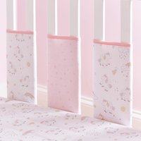 Unicorn Dreams Bumper Bars Pink