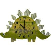 Dinosaur Clock Green