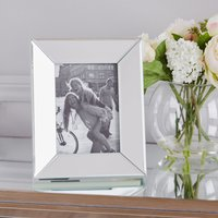 "Angle Mirror Photo Frame 7"" x 5"" (18cm x 13cn) Clear"