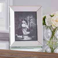 "image-Angle Mirror Photo Frame 10"" x 8\"" (25cm x 20cm) Clear"