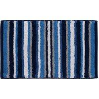 image-Stripes Blue Bath Mat Blue