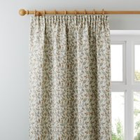 Dianna Duck Egg Pencil Pleat Curtains Blue, Green and Brown