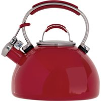 Prestige Stove Top 2L Red Kettle Red