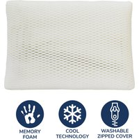My First Memory Foam Pillow White
