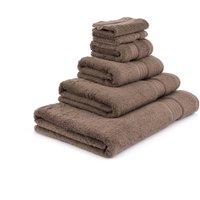 image-Bitter Chocolate Egyptian Cotton Towel Chocolate