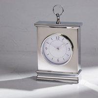 Dorma Chrome Mantle Clock Silver